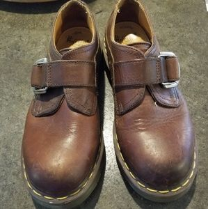 Dr Marten's Brown Leather shoes